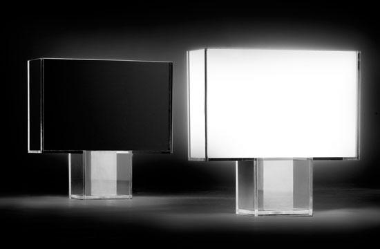 Tati Lâmpada de mesa Creme plissado FC5 22W luz cálida