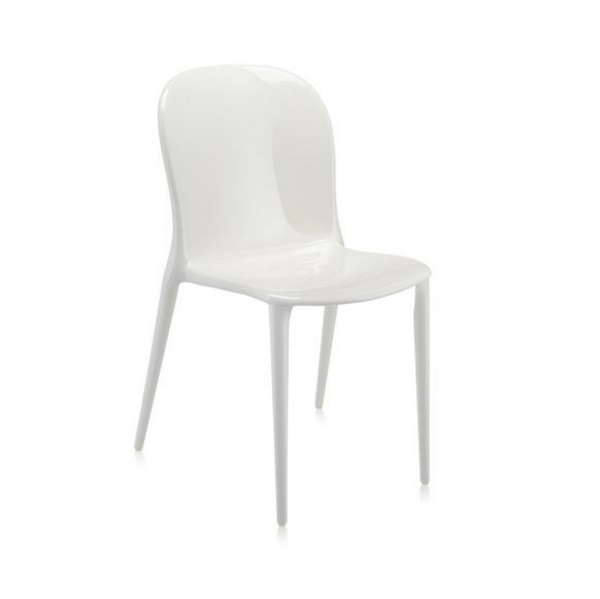 Thalya chair opaca white 46x84cm
