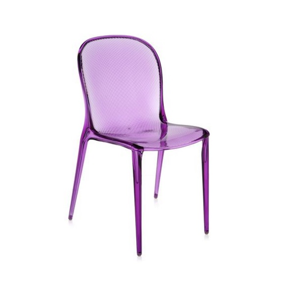 Thalya chair Transparent 46x84cm
