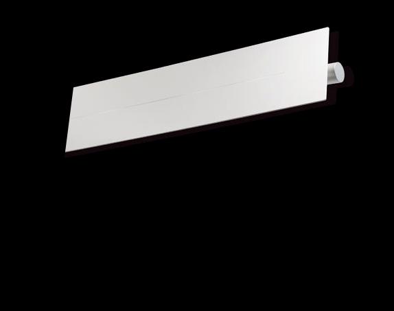 Flap LONG Wall Lamp metal white