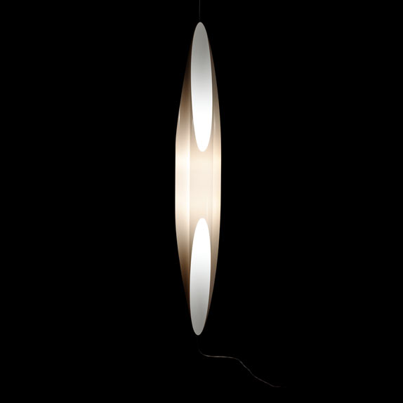 Shakti Air 200 Lámpara Colgante con cable Dimmer y enchufe Naranja