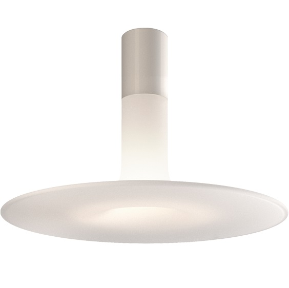 Louis ceiling lamp white Medium