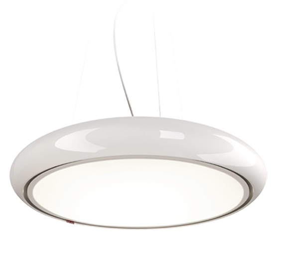 Rojo Label Pendant Lamp white