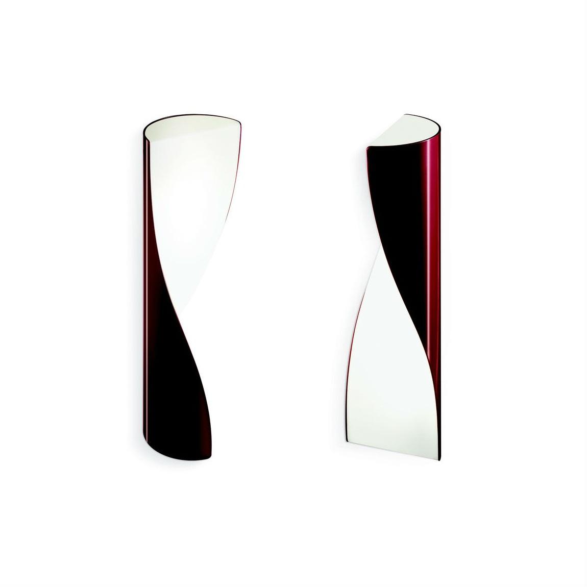 Evita Aplique 38cm T5 2x8w Rojo