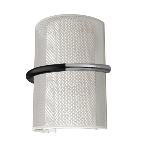 Georgia Wall Lamp 29x24,8cm 2xPL E E27 23w Chrome lampshade Beige