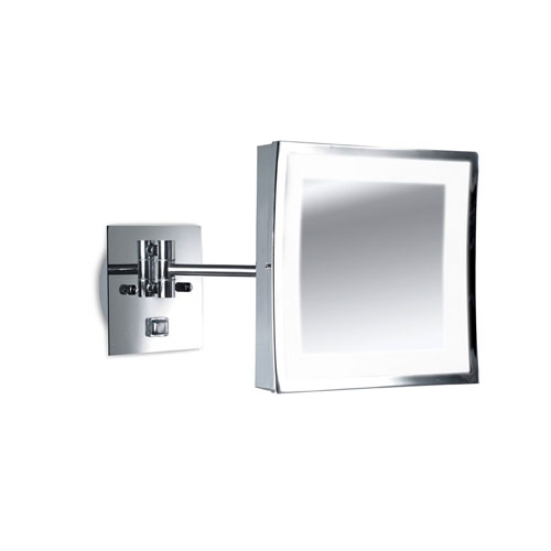 Vanity Wall Lamp with mirror Gx53 max 9W - Chrome