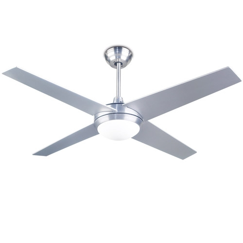 Hawai Ventilator mit Licht 132cm 1xR7s 100w - Nickel Satin