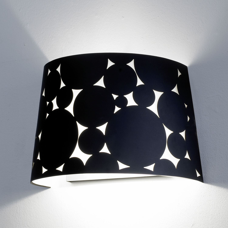 Trama Wall Lamp 28,5x16,1x19cm 2xPL E E27 16w Black