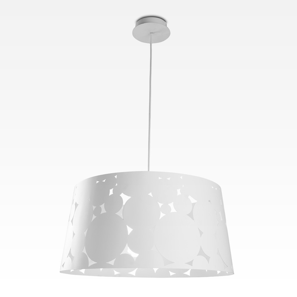 Trama Pendant Lamp ø36,5x150cm PL E E27 23w white