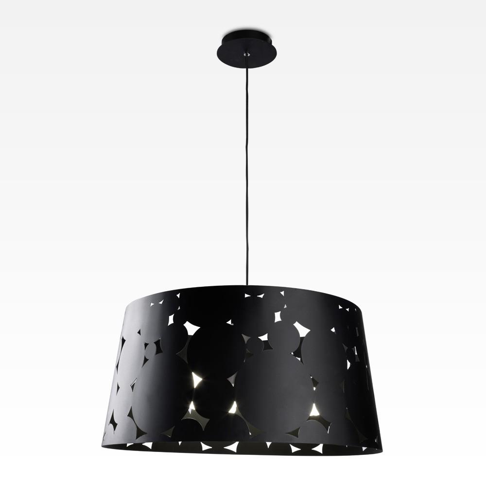 Trama Pendant Lamp ø36,5x150cm PL E E27 23w Black