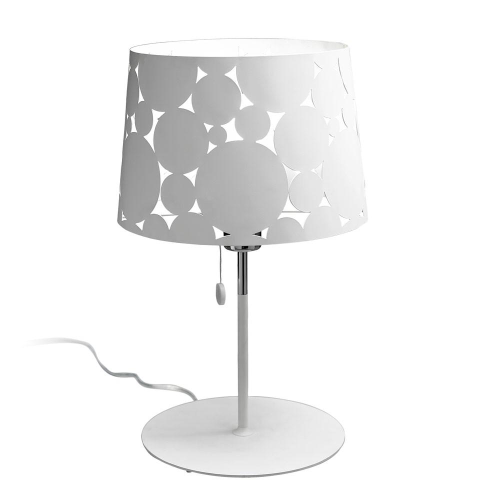 Trama Table Lamp ø28x46,5cm PL E E27 23w white
