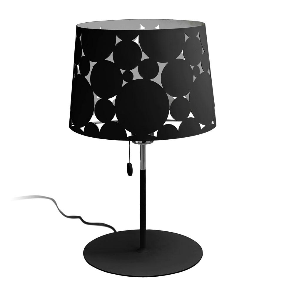 Trama Table Lamp ø28x46,5cm PL E E27 23w Black