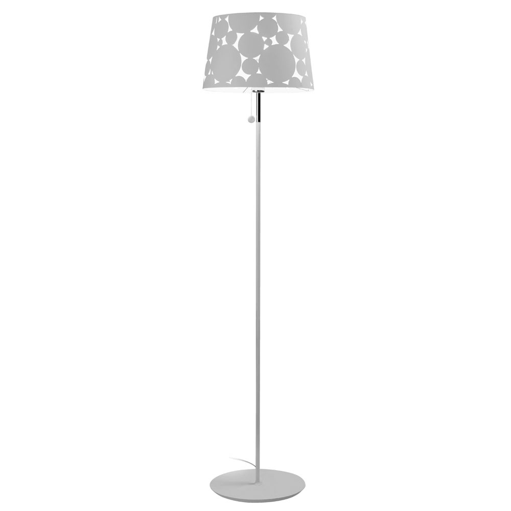 Trama lámpara of Floor Lamp ø36,5x160cm PL E27 23w white