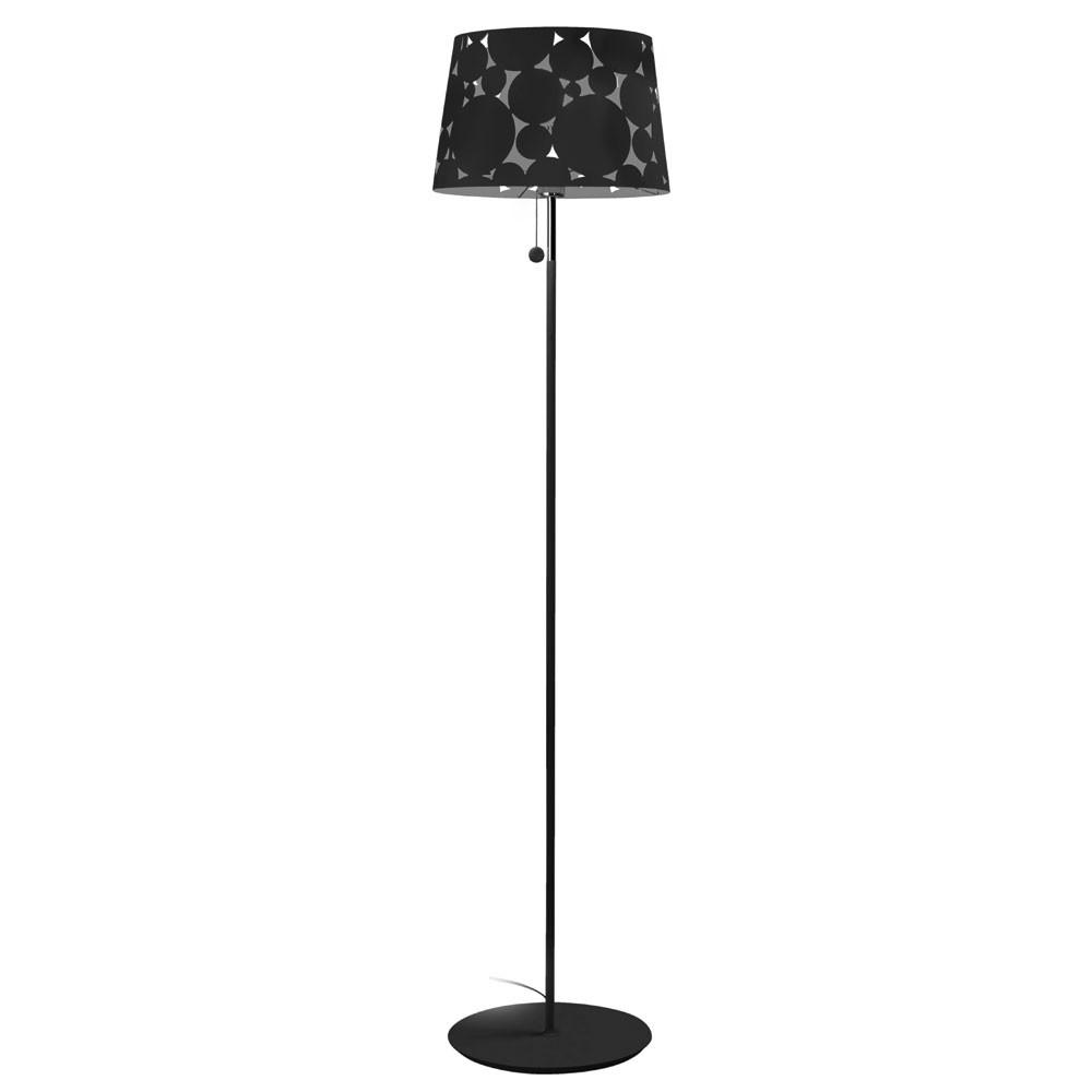 Trama lámpara of Floor Lamp ø36,5x160cm PL E27 23w Black