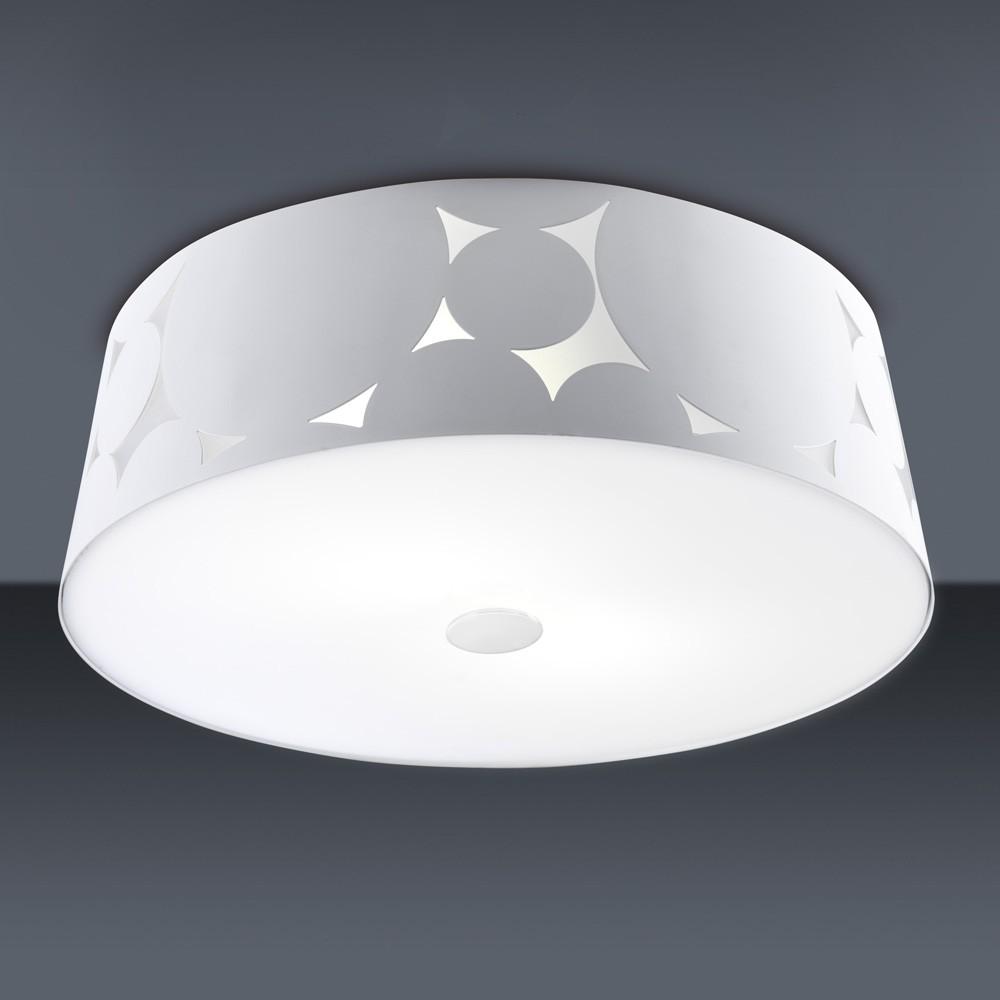 Trama ceiling lamp ø36,5x12,1cm 2xPL E E27 20w white