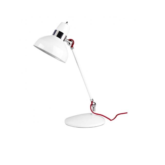 Flex Lampada da tavolo Flexo 50cm E27 14w bianco