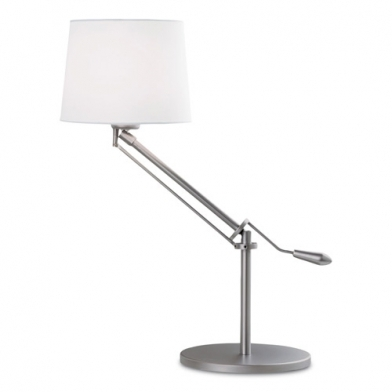 Milan (Solo Structure) Table Lamp without lampshade 61cm E27 18w - Nickel mate