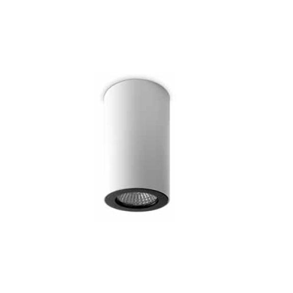 Pipe ceiling lamp 1 Spotlight GU10 6,8cm white matt