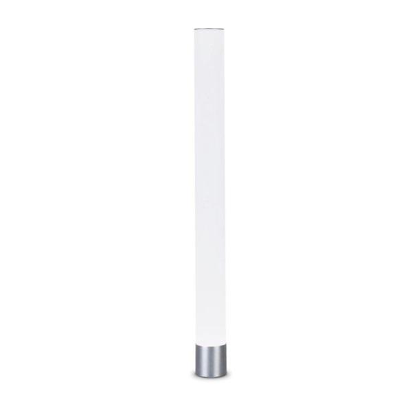Aberdeen Lâmpada de assoalho 160cm E27 PAR30 75w - branco opala