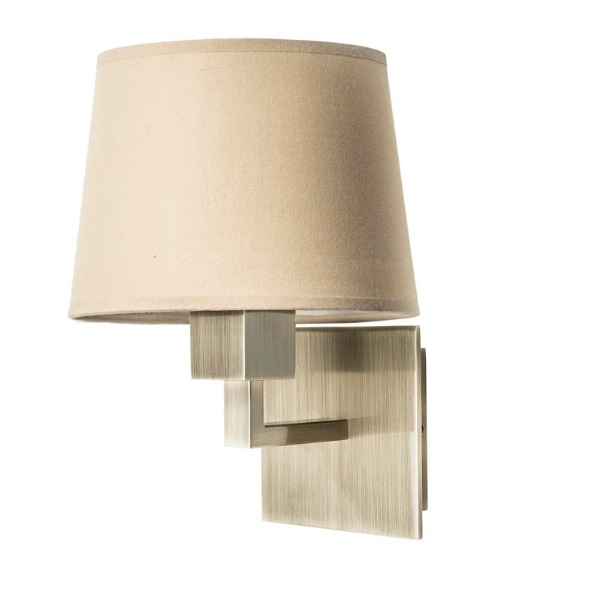 Bali (Solo Structure) Wall Lamp without lampshade 1xE27 max 60W - Patiné