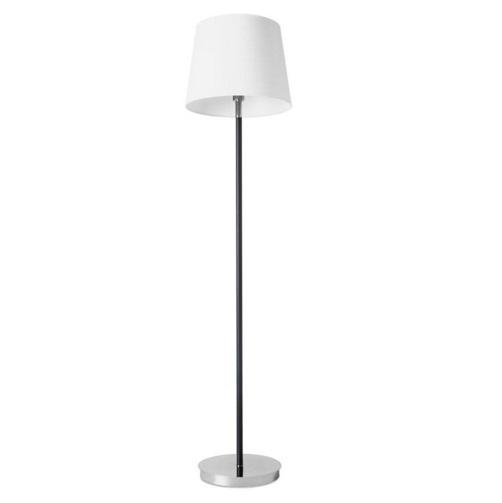 Deluxe (Solo Estructura) Lámpara de Pie sin pantalla 1xE27 MAX 100W - Cromo negro