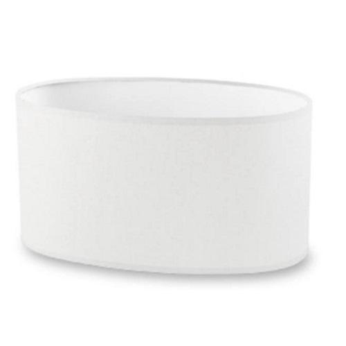 Dress Up (Accessoire) abat-jour ovaleada 28,5cm blanc