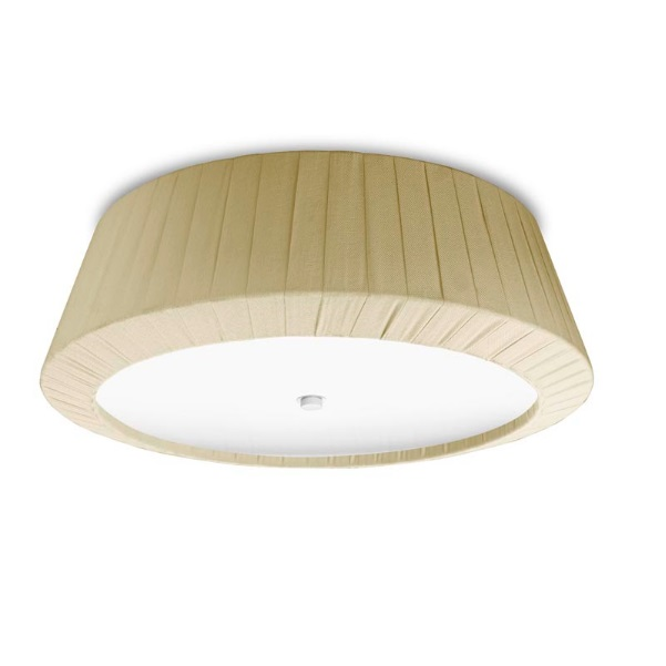 Florencia ceiling lamp 40x13,5cm 2xPL E E27 23w lampshade Beige