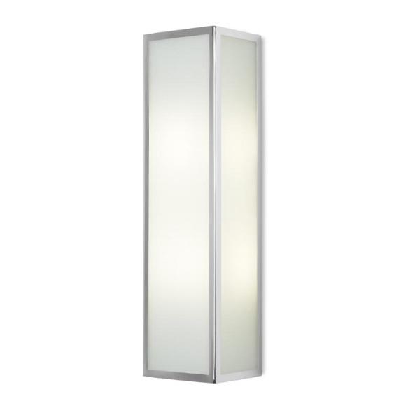 Flow Wall Lamp rectangular 2xE27 46W Chrome