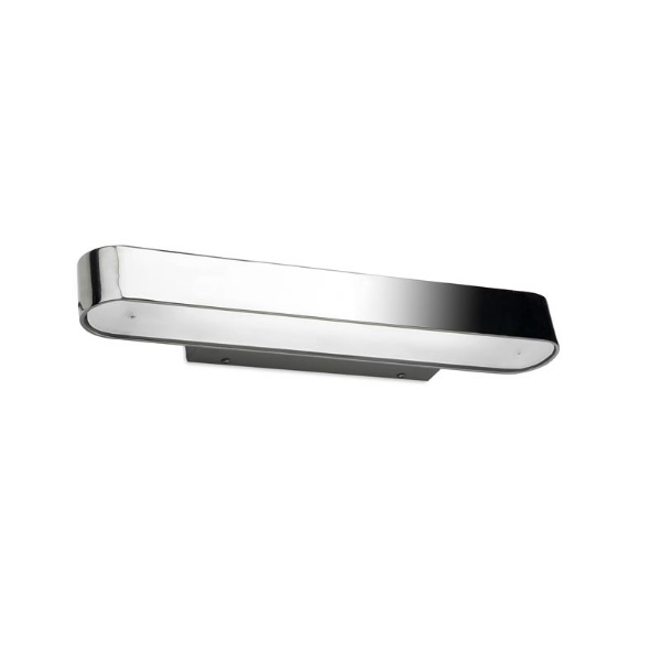 Half Wall Lamp 24x8cm 1xR7s 150W - Chrome