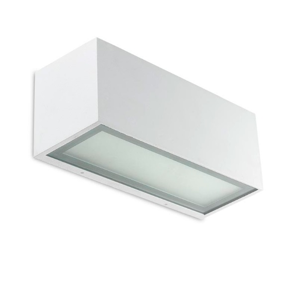 Lia Wall Lamp 22x9cm PL E 23w IP20 white