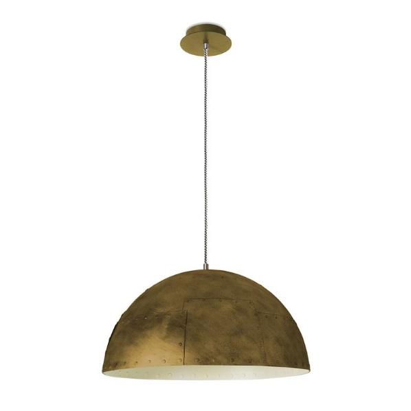 Neo Pendant Lamp 1xE27 100W Gold viejo/white antiguo