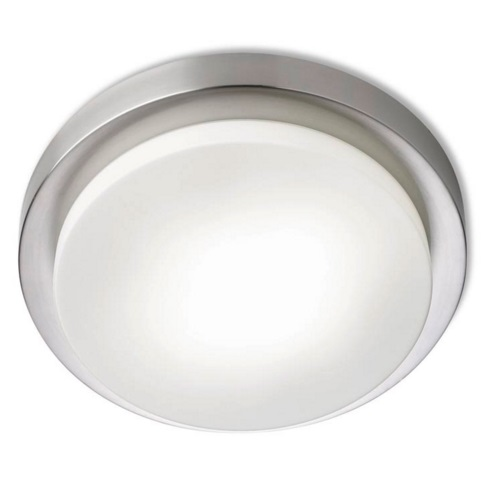 Parma ceiling lamp 2xG24d2 18W - Nickel Satin