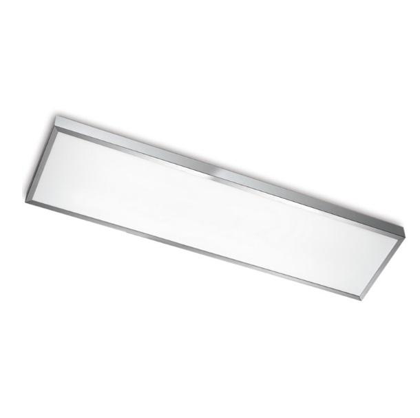 Toledo ceiling lamp LED 38W - Aluminium Satin