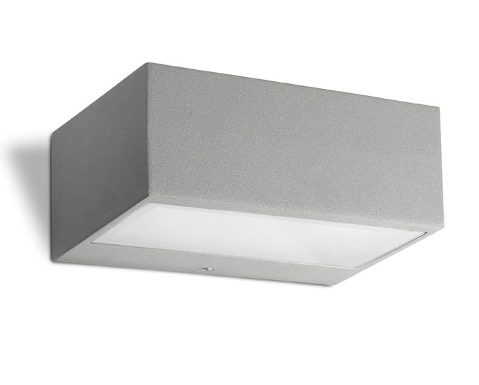 Nemesis Wall Lamp Outdoor 17x11x7cm R7s 78mm 100w Grey