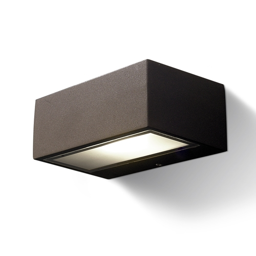 Nemesis Wall Lamp Outdoor 17x11x7cm R7s 78mm 100w Brown