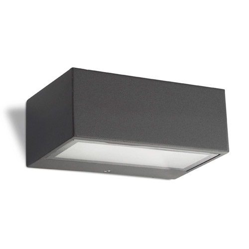 Nemesis Wall Lamp Outdoor 17x11x7cm R7s 78mm 100w Grey Urbano
