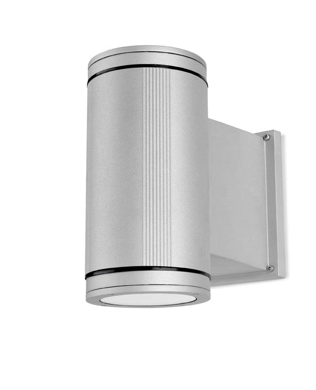 Afrodita luz de parede ø15x29x29cm 70W G12 HID Cinza
