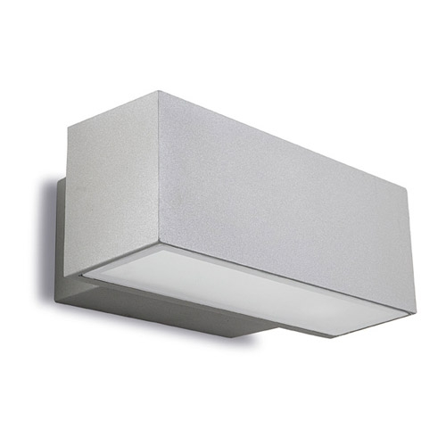 Afrodita luz de parede 30x12x17cm 150W Rx7s HID Cinza