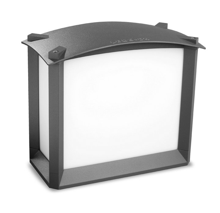 Mark Wall Lamp Outdoor 22x25x12,5cm Grey Urbano 2xE27 max 60W