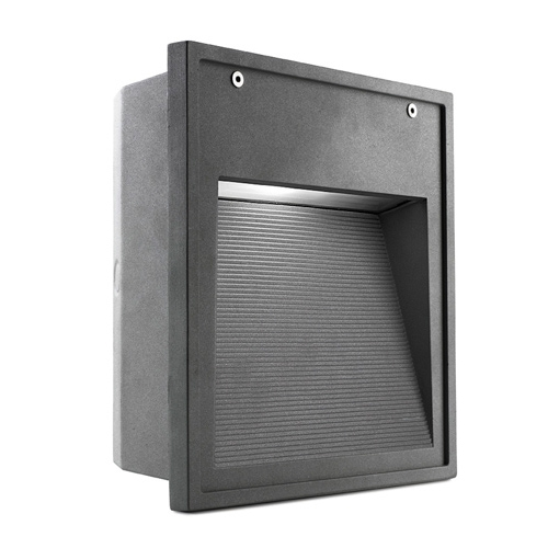 Micenas Recessed 26x25x10cm G12 HID 35W Grey Urbano