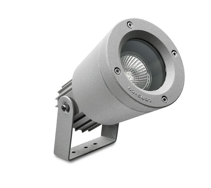 Hubble Wall Lamp Outdoor with visera 12x21x23cm GU10 50W Grey