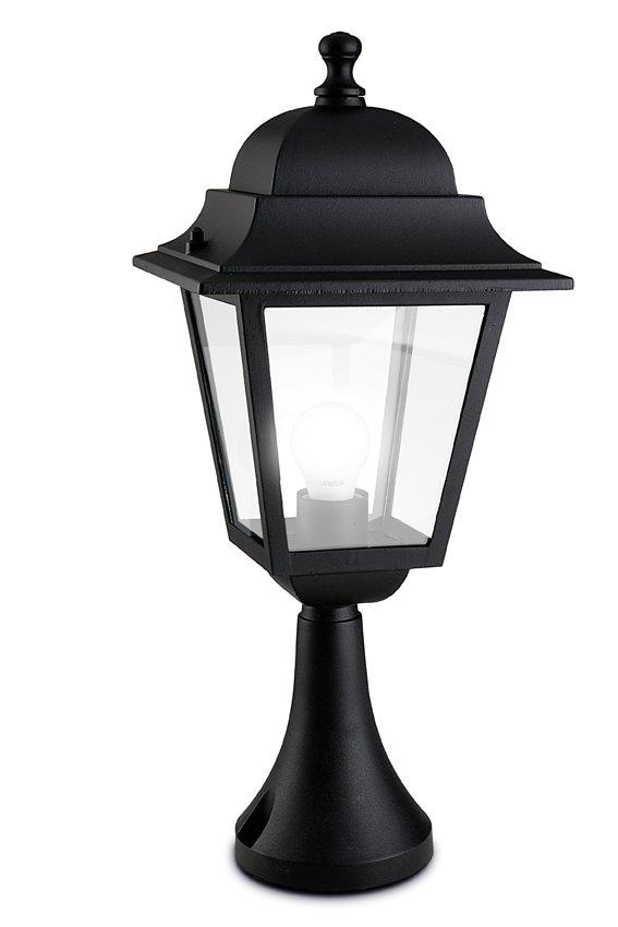 Olimpo Lantern 22x22x51cm Black