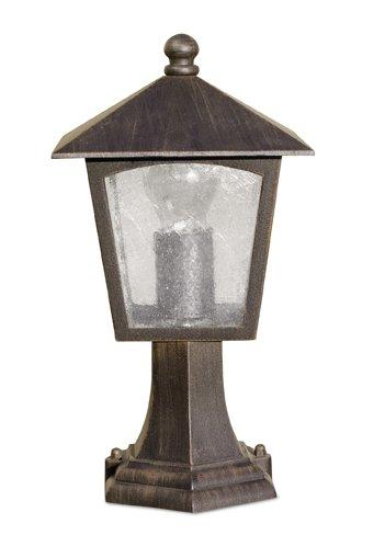 Edipo Lantern 19x19x34cm Brown Oxide