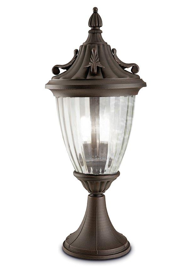 Galatea Lantern 23x54cm Brown óxido 1xE27 max.100W