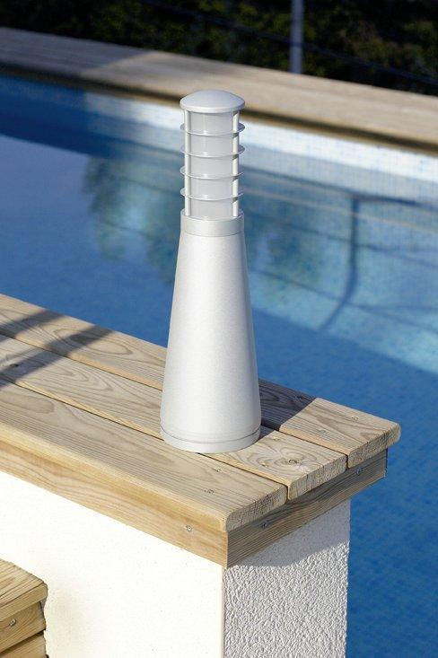 Lantern 35cm Grey