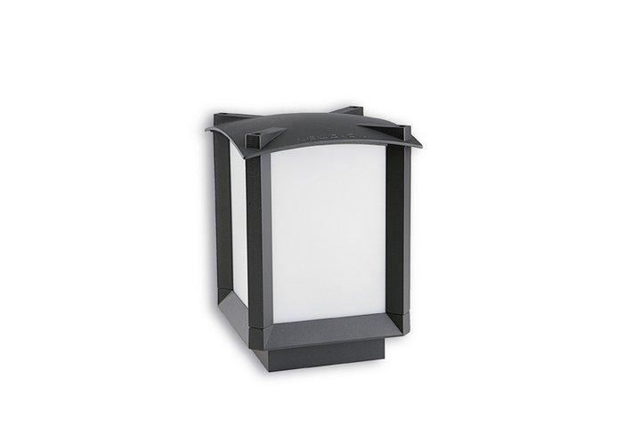 Mark Lantern 16x16x23cm Grey Urbano 1xE27 max. 100W