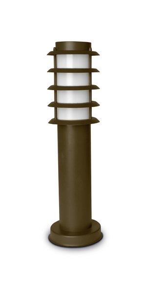 Electra Lantern ø13x45cm Brown