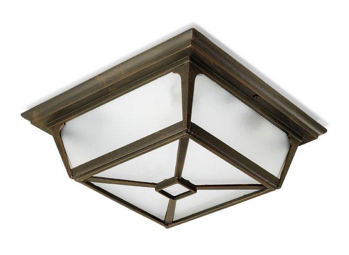 Irene ceiling lamp / Wall Lamp 29x29x10cm Brown oxido