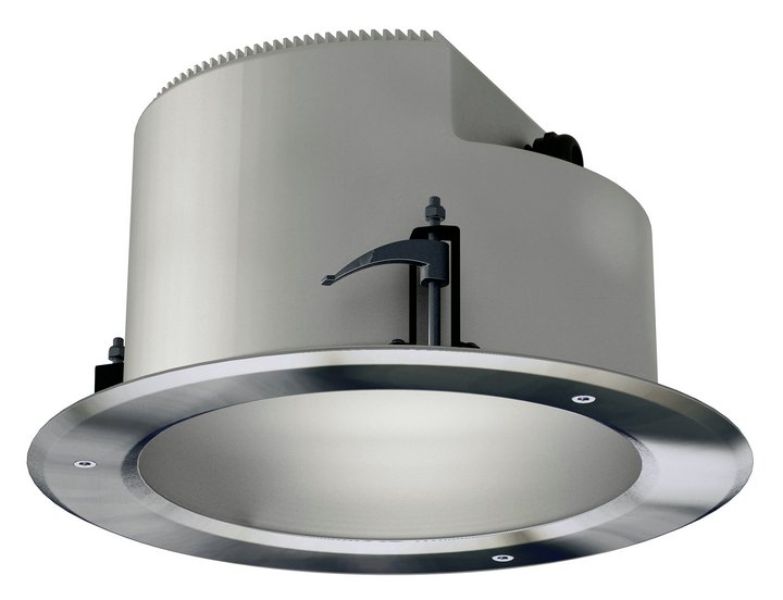 Gea Downlight Recessed ø26x14cm GX24d-3 Stainless Steel AISI 304