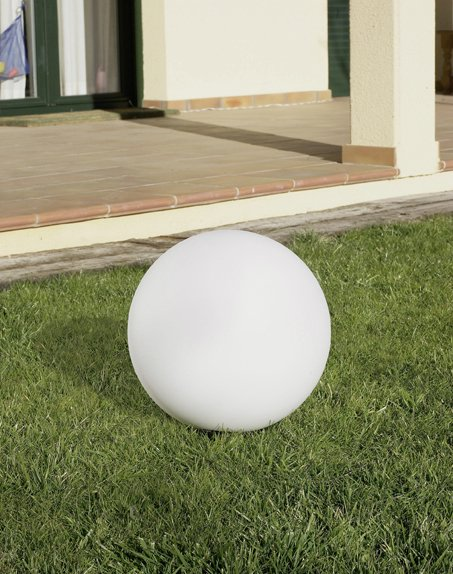 Cisne Lamp of Outdoor ø30cm 1xE27 / 1 x PL elect E27 white